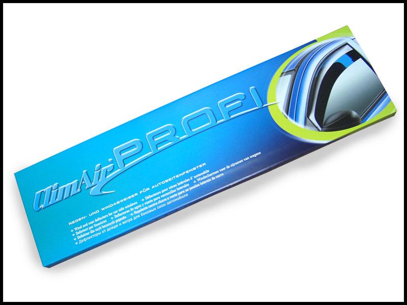 climair car wind deflectors skoda superb 4 door 2008 2009 2010 2011 rear. Black Bedroom Furniture Sets. Home Design Ideas